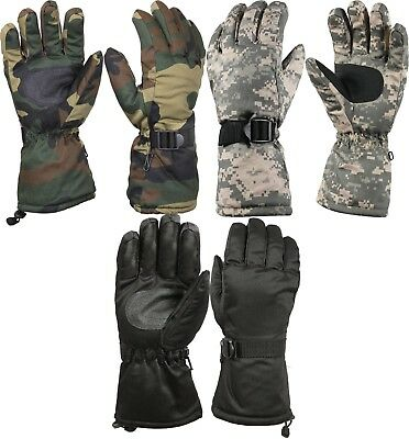 Deluxe Thermoblock Cold Weather Long Cuff Insulated Gloves