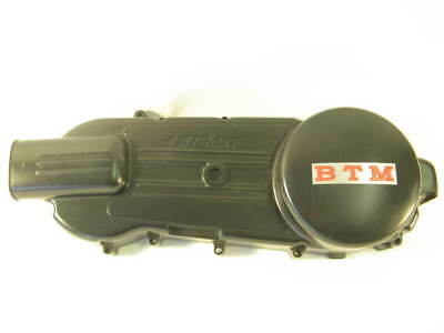 Baotian BTM BT125T-12 125cc Rocky Transmission Drive Belt Cover Black