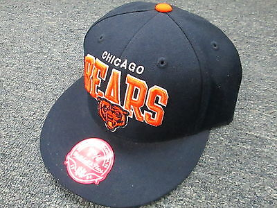 Mitchell & Ness Nfl Throwback Chicago Bears Fitted Hat 7 5/8