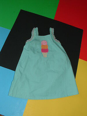 NWT Gymboree POPSICLE PARTY ice cream cone dress 18-24 mos.