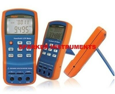 Brand NEW TongHui TH2822A Portable Handheld LCR Meter Tester 100-10KHz USB