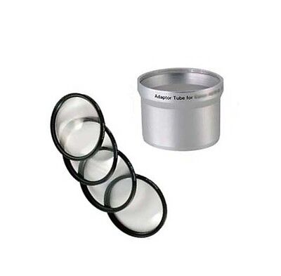 MACRO CLOSE UP Lens 4 Filter Kit + Tube Adapter bundle for Kodak EasyShare Z700