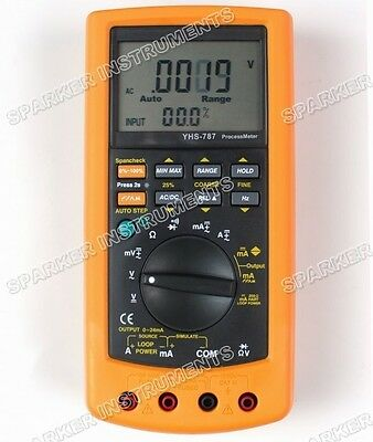 YHS-787 Digital Process Calibration Calibrator Multimeter Meter Tester F 787
