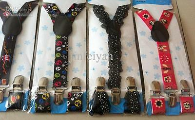 CHILDRENS BRACES, 1-6yrs, 5 DESIGNS, FULLY ADJUSTABLE, BOYS/GIRLS