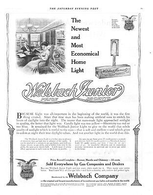 Welsbach Company Junior Light  -  1909