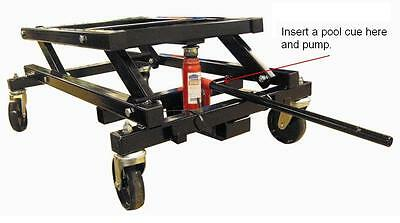 HYDRAULIC POOL TABLE JACK LIFTING TROLLEY MOVER LIFTER PUMP move reposition easy