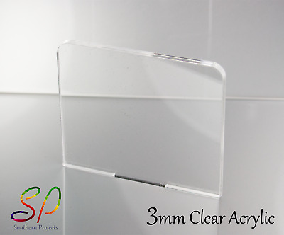3Mm Perspex Acrylic Plastic Sheets Clear Transparent