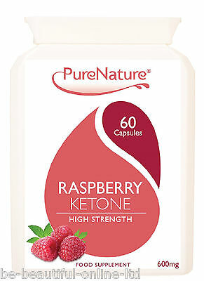 60 Pure Raspberry Ketones 12000mg Daily Serving Weight Loss Diet Slimming Pill