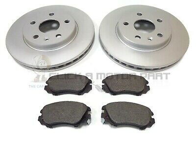 VAUXHALL INSIGNIA 1.8 + 2.0 CDTi FRONT 2 BRAKE DISCS & PADS (CHECK SIZE 296MM)