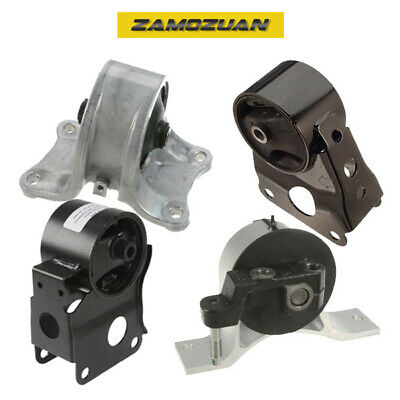 OE Quality Motor & Trans Mount Set 4PCS for 2002-2006 Nissan Altima 2.5L Auto.