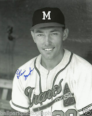 Denis Menke 1962-1965 Milwaukee Braves Autographed Signed 8x10 Photo COA w/Proof