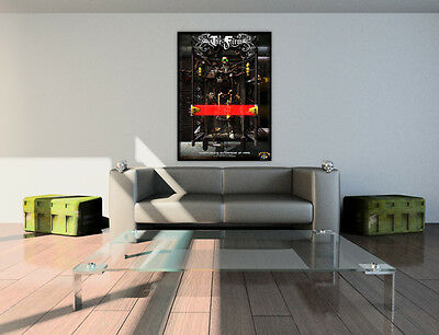Poster Steampunk Gothique. Edition collector 500 exemplaires.
