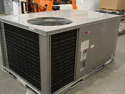 Icp 4 Ton Packaged Air Conditioner Unit 208/230V 1Ph Heat Pump Phx348000K