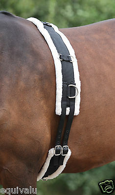 NEW Shires Horse Nylon Lunge Roller - Fleece Lining - Lunging Training Breaking