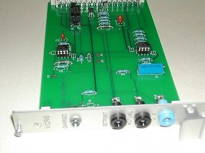 Process Equipment Co VCR6  Control Board Used Nice Rexroth (C25)