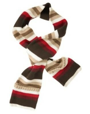 Gymboree Alpine Patrol Multi Color Stripe Sweater Scarf 1-Size Nwt
