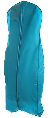Turquoise Storage Bag For Prom Gown Dress, Breathable, Heavy Duty Storage Prom