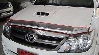 BUG SHIELD HOOD GUARD (SIZE 12cm) FOR TOYOTA FORTUNER 2005-2011