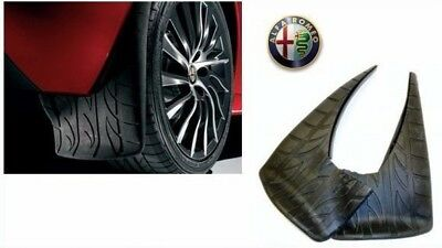 Pair Of Brand New, Genuine Official Alfa Romeo MiTo Rear Mudflaps 71805105