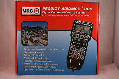"""MRC Prodigy Advance 2 """"Squared""""  Compete DCC System #0001414  1414"""