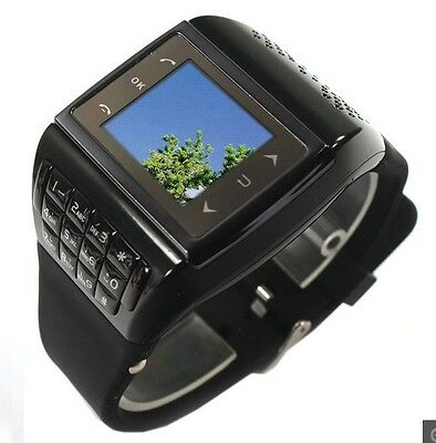 "Q5 1.33"" Touch Screen GSM QuadBand Wrist Watch Mobile CellPhone Bluetooth FM MP3"