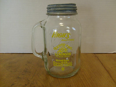Golden Harvest Qt Drinking Jar High's Dairy Maxwell House Country time metal lid