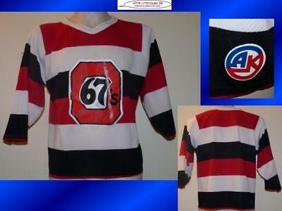 Maillot jersey de hockey sur glace NHL icehockey 67's M