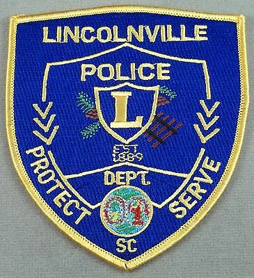 Law Enforcement Patch / Lincolnville Police / South Carolina