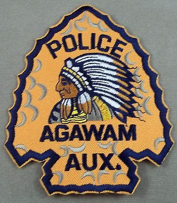 Law Enforcement Patch / Agawam Auxiliary Police / Massachusetts
