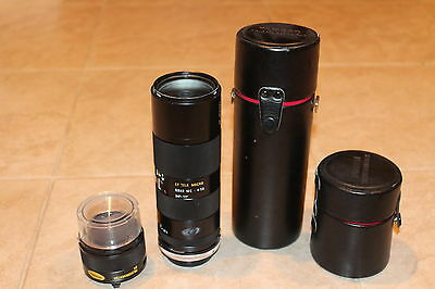 Tamron SP 70-210mm F/3.5-4 For CANON FD with 2X TELE CONVERTER