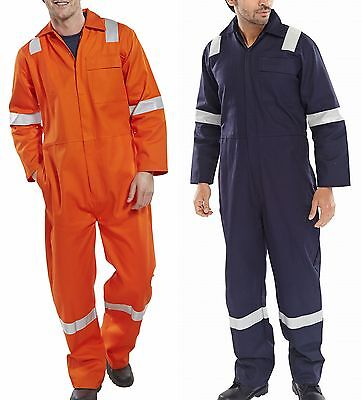 Fire Retardant & High Visibility Coverall Boilersuit Overalls All Size & Colours