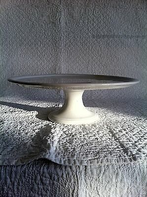 19th Century white porcelain compotier/ cake stand - Maestrecht