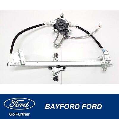 Window Regulator Electric Right Drivers Door Ford Au Ba Bf New Genuine Ford.
