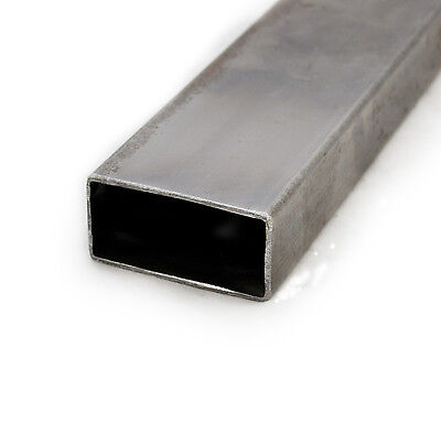 Mild Steel Square ERW Tube | 40mm x 20mm | 1.5mm Thick | 0.5m - 6m Lengths