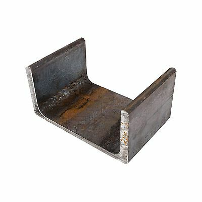 Mild Steel Parallel Flange Channel 100mm x 50mm 8.5mm Thick 0.5m - 6m Lengths