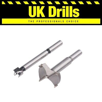 FORSTNER BITS. HIGH QUALITY WOOD DRILLS  - SIZES 10-50mm + SET