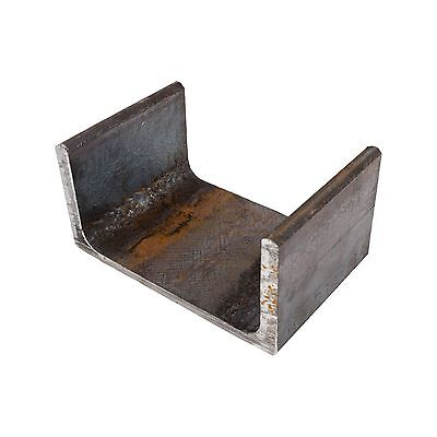 Mild Steel Parallel Flange Channel 200mm x 75mm 12.5mm Thick | 0.5m - 6m Lengths