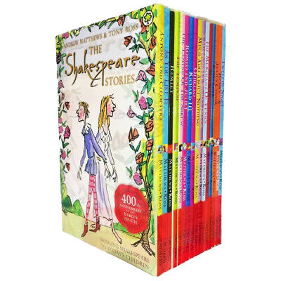 Shakespeare Stories Collection 16 Books Box Gift Set - New Romeo and Juliet