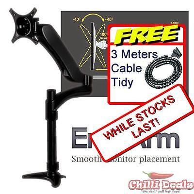 Adjustable fullmotion desk table arm  ERGOARM LCD Monitor clamp mount stand