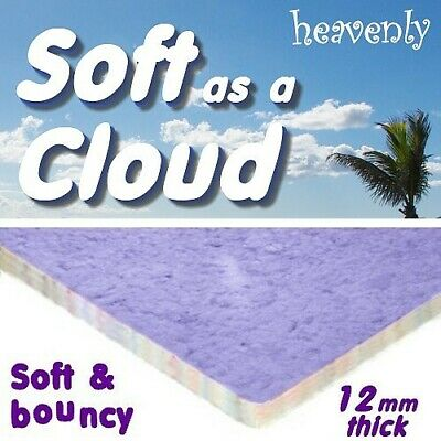 cheapest SOFT AS A CLOUD 12mm thick foam carpet underlay -buy just what you need