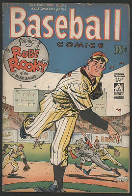 BASEBALL Comics #1, 1949, Will Eisner Productions
