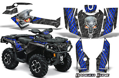 Can-Am Outlander 800 1000 R Xt 12-16 Graphics Kit Creatorx Decals Stickers Dzbl