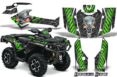 Can-Am Outlander 800 1000 R Xt 12-16 Graphics Kit Creatorx Decals Stickers Dzg
