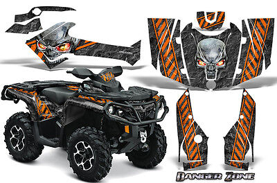 Can-Am Outlander 800 1000 R Xt 12-16 Graphics Kit Creatorx Decals Stickers Dzo