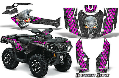 Can-Am Outlander 800 1000 R Xt 12-16 Graphics Kit Creatorx Decals Stickers Dzp