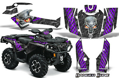 Can-Am Outlander 800 1000 R Xt 12-16 Graphics Kit Creatorx Decals Stickers Dzpr