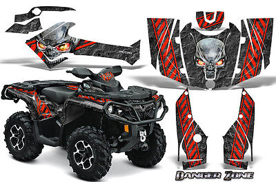Can-Am Outlander 800 1000 R Xt 12-16 Graphics Kit Creatorx Decals Stickers Dzr