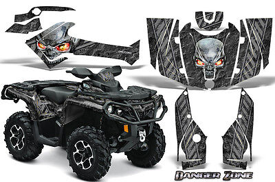 Can-Am Outlander 800 1000 R Xt 12-16 Graphics Kit Creatorx Decals Stickers Dzs