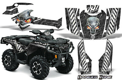 Can-Am Outlander 800 1000 R Xt 12-16 Graphics Kit Creatorx Decals Stickers Dzw