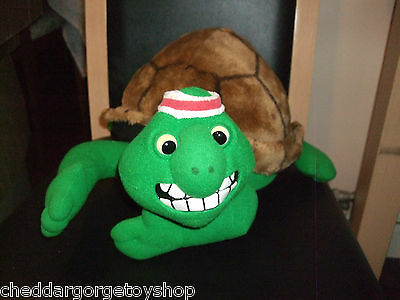 Vintage 1989 Creature Comforts Large Frank The Turtle Soft Toy Vgc